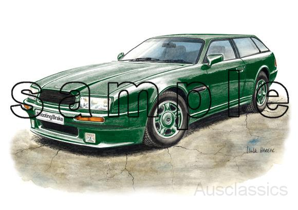 ... Harbar Fine Artworks/Aston Martin/Aston Martin Virage Shooting Brake